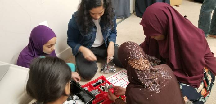 Team Galaxy Girls - Mclean Islamic Center Workshops